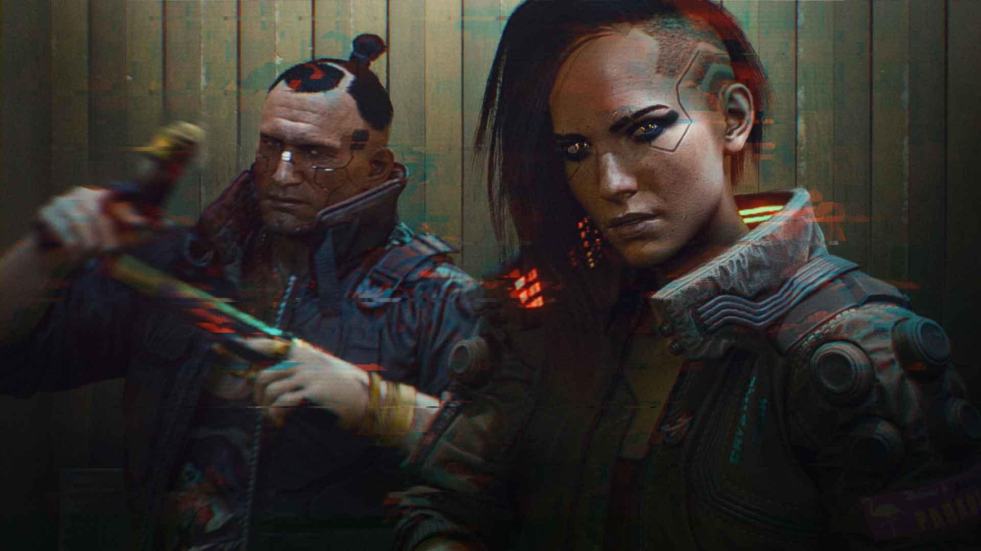 Glitched no text 1920x1080 PR - نقد و برسی بازی Cyberpunk 2077