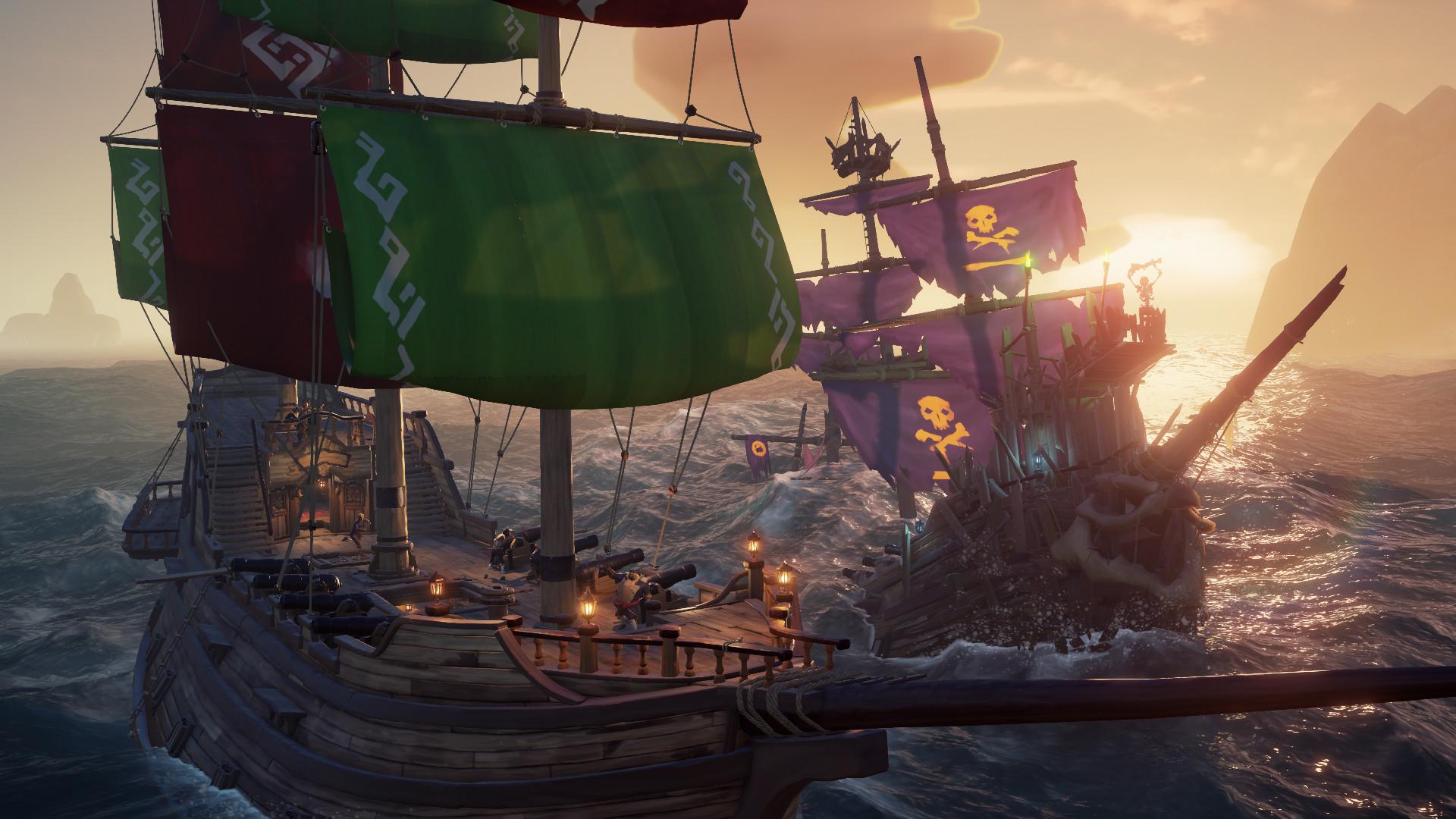 sea of thieves 1 - دانلود بازی آنلاین Sea of Thieves برای کامپیوتر
